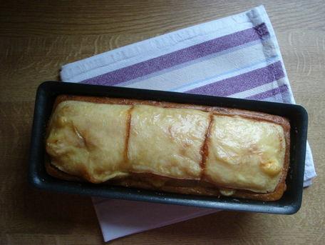RECIPE MAIN IMAGE Cake façon raclette de Savoie