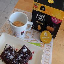 Fondant au chocolat et café