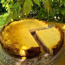 Tarte spéculos et fromage blanc