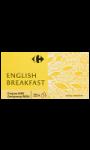 Thé English Breakfast Carrefour