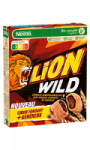 Céréales Wild caramel chocolat Lion