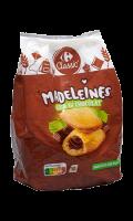 Madeleines coeur au chocolat Carrefour Classic'