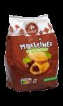 Madeleines coeur au chocolat Carrefour...