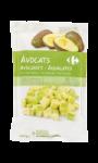 Avocats en morceaux surgelés Carrefour
