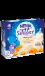 Lait et céréales bébé 4/6 mois, carottes riz Nestlé P'tit Souper
