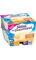 Desserts bébé 6+ mois, semoule au lait Nestlé P'tit Gourmand
