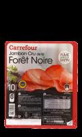 Jambon cru fumé de la Forêt Noire Carrefour
