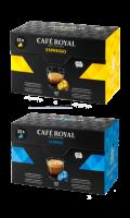 Café Royal compatibles système Nespresso®* Lungo x33 capsules