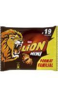 Barres chocolatées mini Lion