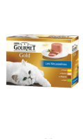 Pâtée pour chats Gold les Mousselines Gourmet