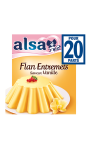 Alsa Préparation Flan Entremets Crème Dessert Vanille 4 Sachets 192g
