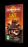 Chocolat bio lait noisettes entières Alter Eco