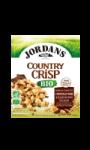 Céréales Country Crisp au chocolat noir et éclats de fèves de cacao bio Jordans
