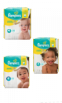 Pampers Couches Premium Protection taille 4 : 8-16 kg Pampers