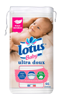 Coton carrés Sensitive Lotus Baby