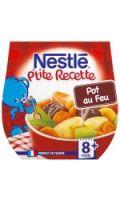 Plats bébé 8+ mois pot au feu Nestlé