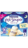 Céréales bébé 6+ mois, douceur de riz Nestlé P'tit Souper
