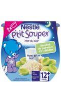 Plats bébé poireau riz, 12+ mois Nestlé P'tit Souper