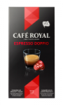 Café Royal compatibles système Nespresso®* Doppio Espresso x10 capsules