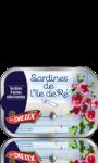 Sardines de l'Ile de Ré Le Trésor des Dieux