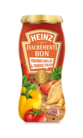 Sauce pour pâtes aux poivrons grillés et fromage Italien Heinz