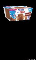 Desserts bébé 6+ mois, flan chocolat NESTLE