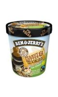 Glace Peanut Butter & Cookies BEN & JERRY'S
