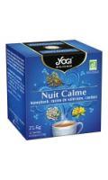 Infusion nuit calme bio Yogi Tea
