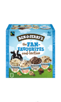 Glace The Fan Favourites cool-lection Ben & Jerry's