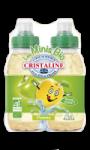 Minis Bio de Cristaline au jus de pomme