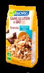 Granola chocolat coco sans gluten et bio Bjorg