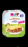 Plat bébé dès 15 mois, lasagnes bolognaise Hipp biologique