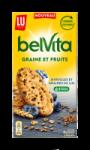Biscuits myrtilles et graines de lin Belvita