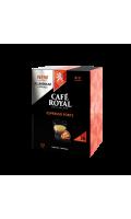 Café en capsulesen aluminium Espresso Forte Café Royal