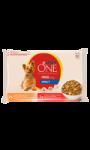 Repas pour chien mini adulte boeuf et poulet Purina One