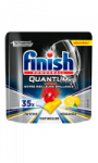 Tablette lave-vaisselle Quantum Ultimate parfum citron Finish