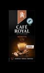 Café Noisette Aluminium Capsules Café Royal