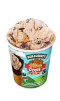 Glace cône together Ben & Jerry's