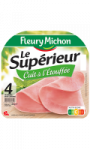 Jambon supérieur cuit à l'étouffée 4 tranches Fleury Michon