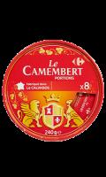 Camembert en portions Carrefour
