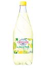 Eau de source gazeifiee au jus de fruit citron citron vert Cristaline