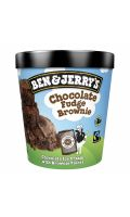 Glace chocolat fudge brownie Ben & Jerry's