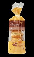 Mini-gâches aux carrés de chocolat Carrefour