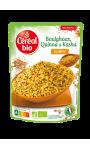 Boulghour Quinoa et Kasha Curry Céréal Bio