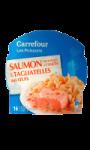 Plat cuisiné saumon Atlantique à l'aneth...
