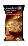 Tortilla chips goût chili Carrefour