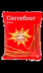 Biscuits apéritifs sticks salés Carrefour