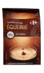 Café dosettes souples Arabica Carrefour
