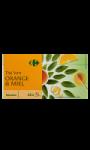Thé vert orange miel Carrefour