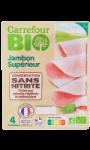 Jambon Supérieur Carrefour Bio